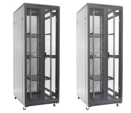 Picture of DYNAMIX 45RU Server Cabinet 800mm Deep (800 x 800 x 2100mm). FLAT