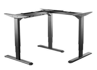 Picture of BRATECK 3-Stage Reverse Triple Motor Electric Sit-Stand Desk Frame
