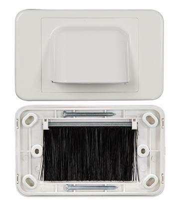 Picture of DYNAMIX AV Bull Nose Brush Plate