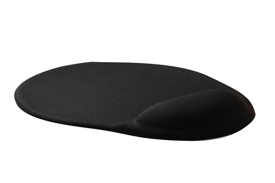 Picture of DYNAMIX Ergonomic Mouse Pad with Gel Palm Rest. Dimensions: