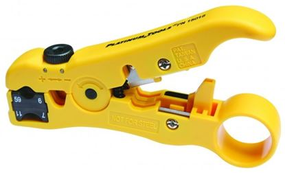 Picture of PLATINUM TOOLS All-In-One Stripping Tool. Coax, Cat5e/6 data cable,