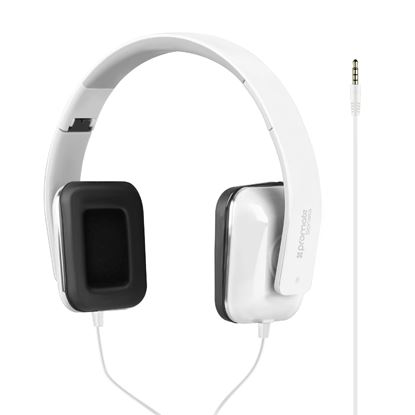 Picture of PROMATE Foldable Over-The-Ear wired Stereo headset.