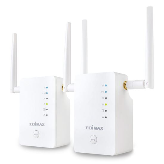 Picture of EDIMAX Gemini RE11 Whole Home WiFi Upgrade Kit. Plug & play AP
