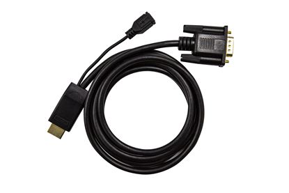 Picture of DYNAMIX 2m HDMI to VGA Cable, Includes Micro USB Female. Optional
