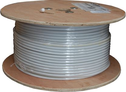 Picture of DYNAMIX 152m Roll RG6 Shielded Cable. White. 75?. 18AWG solid