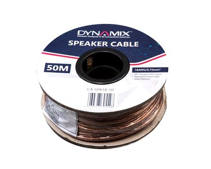 Picture of DYNAMIX 50m 18AWG Speaker Cable