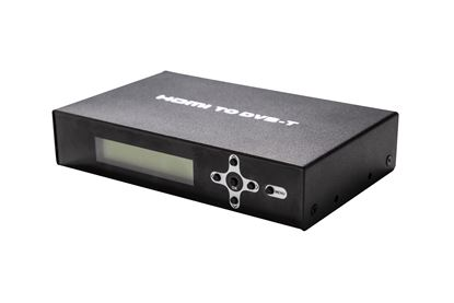 Picture of LENKENG HDMI to RF Digital Modulator with Loop Out Port