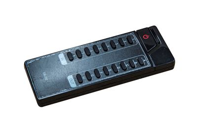 Picture of CYP remote for 8X8 and 4X6 HDMI matrix switches.
