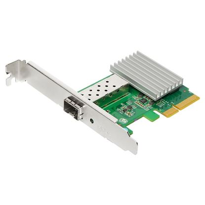 Picture of EDIMAX 10GbE SFP+ PCI Express Server Adapter. Converts PCIe slot