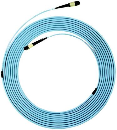 Picture of DYNAMIX 15M OM3 MPO ELITE Trunk Multimode Fibre Cable. POLARITY A
