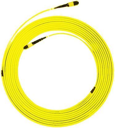 Picture of DYNAMIX 100M OS2 MPO ELITE Trunk Single-mode Fibre Cable. POLARITY C