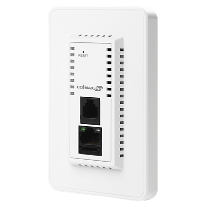 Picture of EDIMAX AC1200 In-Wall Dual-Band PoE Access Point. 802.11ac High