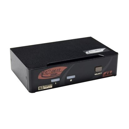 Picture of REXTRON 2 Port HDMI USB KVM Switch with Audio. USB Console. Full