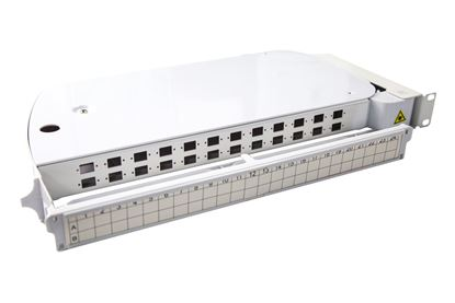 Picture of DYNAMIX 1U Rotary 24 Ports SC Simplex, Footprint Unloaded