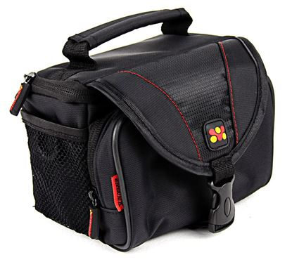 Picture of PROMATE Compact Camera Case with Front Storage, Side Mesh Pocket and