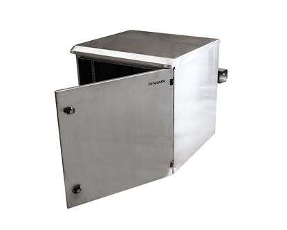 Picture of DYNAMIX 6RU Stainless Outdoor Wall Mount Cabinet (611 x 425