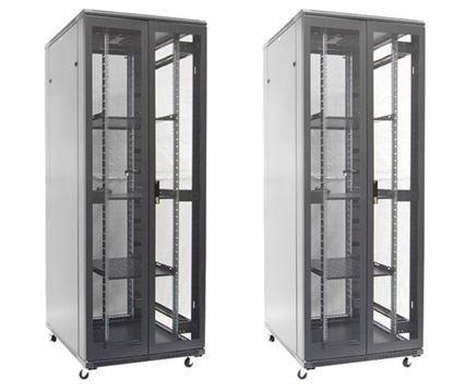 Picture of DYNAMIX 42RU Server Cabinet 1000mm Deep (800 x 1000 x 2100mm). FLAT