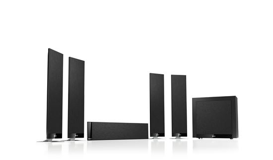 Picture of KEF Home Theatre Speaker System. Includes: 5x T301 for centre and