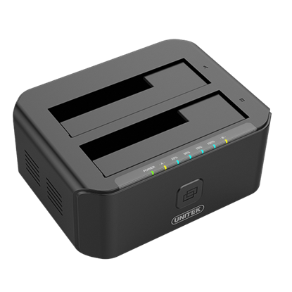 "Picture of UNITEK USB3.0 to SATA 6G Dual Bay 2.5""/3.5"" HDD Docking Station"