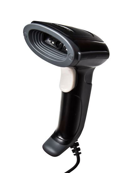 Picture of KAPTUR 1D CCD Barcode Reader without Stand Black housing + Grey