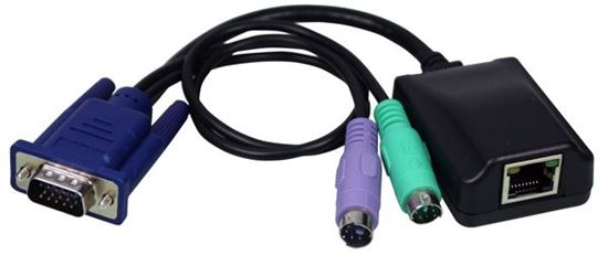 Picture of REXTRON PS2 to Cat5e UTP Dongle for AKS series KVM Switches