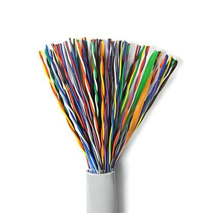 Picture of DYNAMIX Cat3 UTP 50 Pair Cable - 500m REEL. 24AWG SOLID LSZH Colour