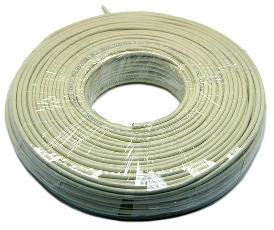 Picture of DYNAMIX 100m Cat5e Ivory UTP STRANDED Cable Roll 100MHz,
