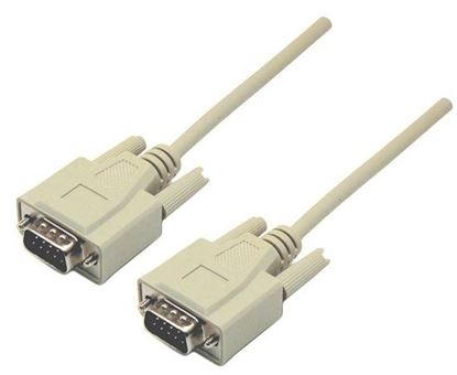 Picture of DYNAMIX 5m DB9 Male/Male Cable, Moulded