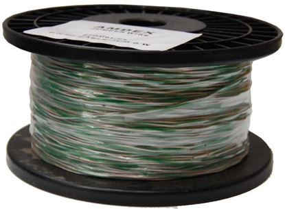 Picture of DYNAMIX 250m Green & White Jumper Cable, Copper:0.45mm² (non-tinned).