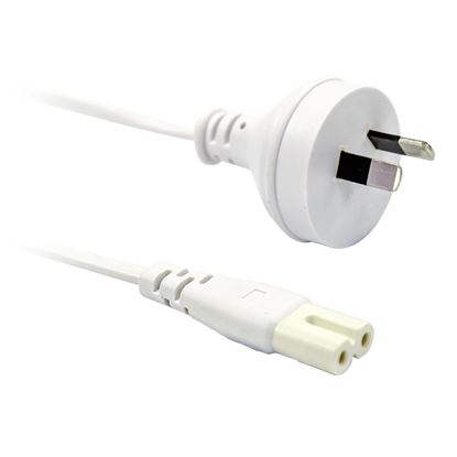 Picture of DYNAMIX 2M Figure 8 Power Cord  - 2-Pin plug to figure 8 (IEC 320 C7)