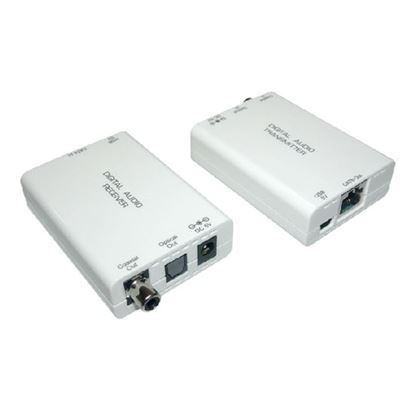 Picture of CYP Digital Optical Audio Extender over Single Cat5e/6. Kit Includes: