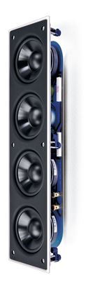 """Picture of KEF Rectangle In Wall Subwoofer with 4x 4"""" (LF) drivers. Rigid"""