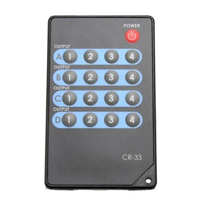 Picture of CYP Remote for HDMI4X4S and HDMI4H4C6