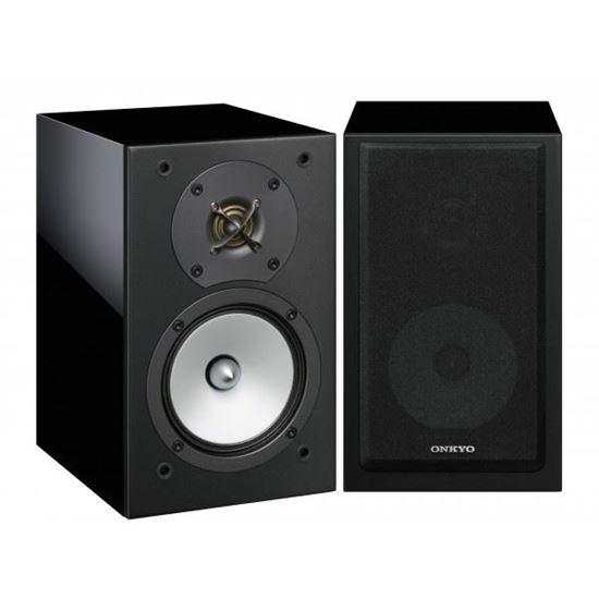 Picture of ONKYO 2-Way Bass Reflex Speakers. 13cm N-OMF diaphragm woofer. 3cm