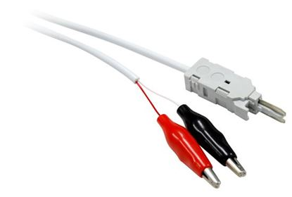 Picture of DYNAMIX 1.5m Disconnect Module Test Cable. 2x Pole with Alligator