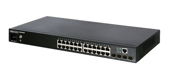 Picture of EDGECORE 24 Port Gigabit Managed L2+ Switch. 4x GE SFP Ports. 1x