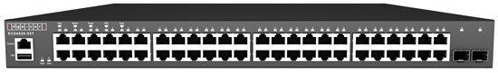 Picture of EDGECORE 52 Port Gigabit Managed L3 Switch 48x GE RJ-45, 2x 10G Uplink,