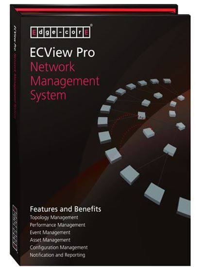 Picture of EDGECORE SNMP Entity Management System for 300 nodes. ECView Pro is