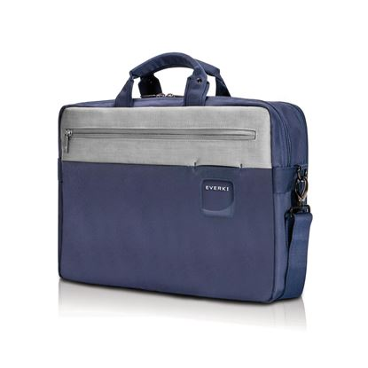 "Picture of EVERKI ContemPRO 15.6"" Commuter Laptop Briefcase, Colour Navy"