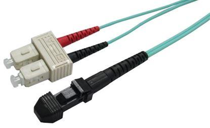 Picture of DYNAMIX 0.5M 50u MT-RJ/SC OM3 Fibre Lead (Duplex, Multimode)