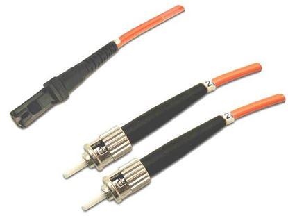 Picture of DYNAMIX 20M 62.5u MT-RJ/ST OM1 Fibre Lead (Duplex, Multimode)