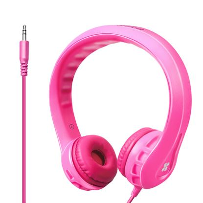 Picture of PROMATE Kid-Friendly Over ear Wired Headphones. Superb stereo sound.