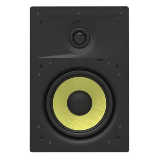 """Picture of LUMI AUDIO 6.5"""" 2-Way In-wall Frameless Speaker. Frequency"""