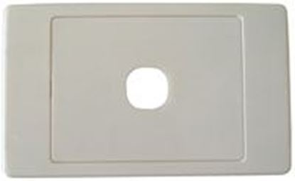 Picture of AMDEX Switch Plate ONLY. Single. Wall Face Cover Plate. (Accepts