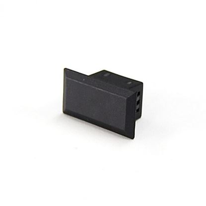 Picture of DYNAMIX Blanking Plug for FPP-SCS8 Plate. Colour Black