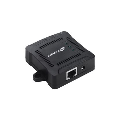 Picture of EDIMAX Gigabit PoE+ Splitter. Adjustable output power 5, 9,12VDC.