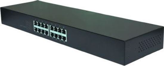 Picture of EDIMAX 16 Port 10/100/1000 Gigabit Rack-mount Unmanaged Switch. High-