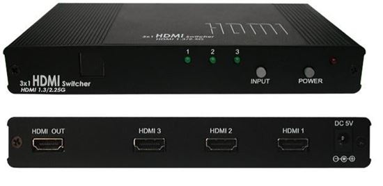 Picture of CYP HDMI 3 in 1 out Switch HDMI, HDCP 1.1 and DVI 1.0