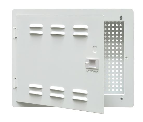 """Picture of DYNAMIX 14"""" Network Enclosure Recessed Wall Mount, Vented Lid,"""