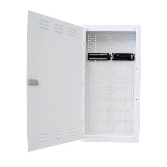 """Picture of DYNAMIX 28"""" FTTH Wall Enclosure KIT Includes: 8x Port Data Module, 8x"""